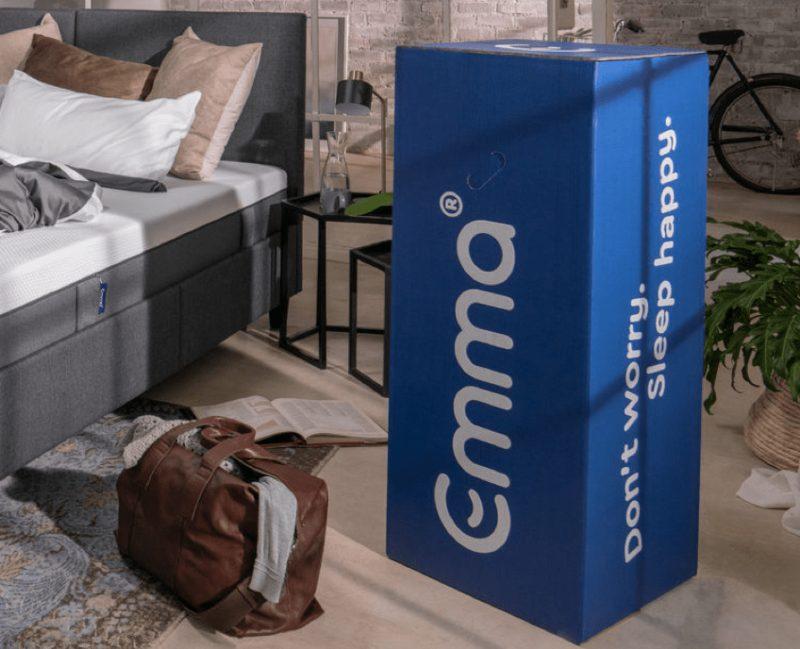 emma hybrid mattress box