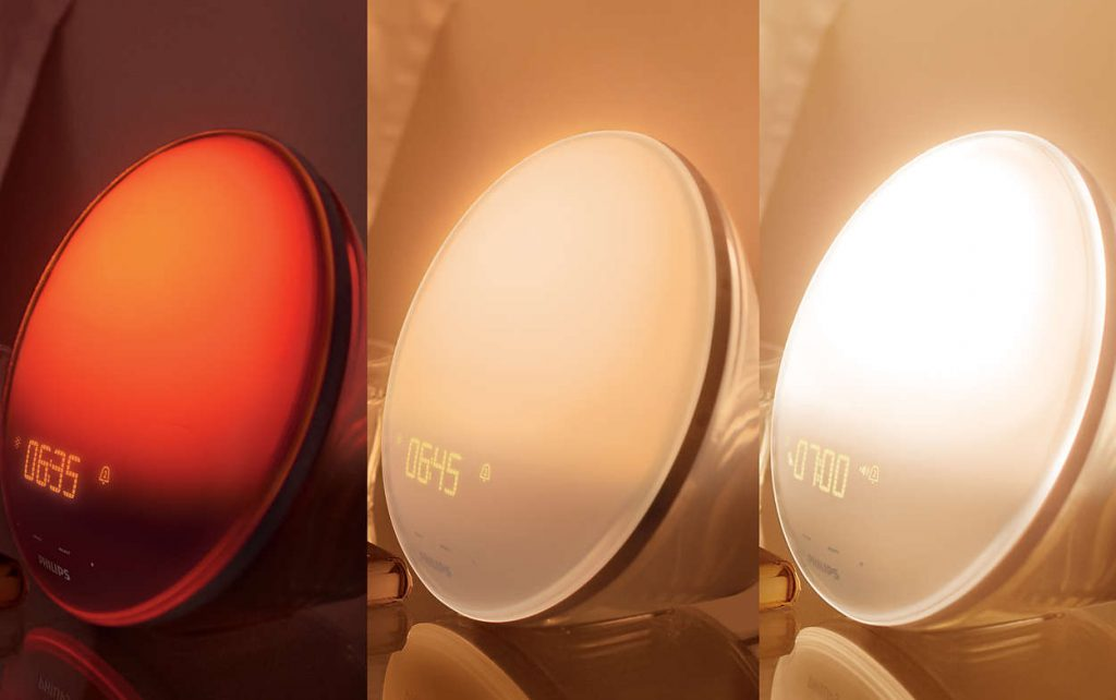 Philips Wake-Up Light Alarm Clock HF3520
