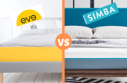 eve vs simba mattress review