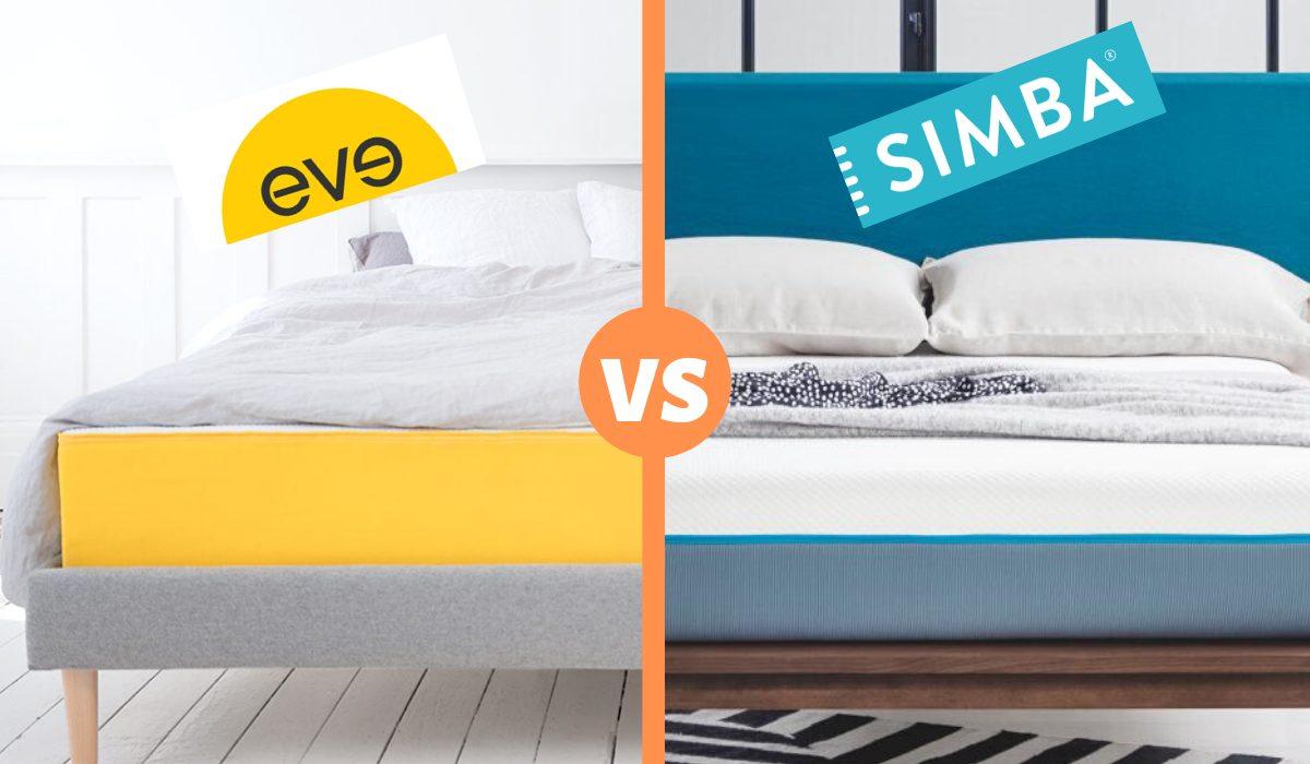 eve vs simba mattress review