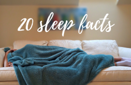 20 sleep facts