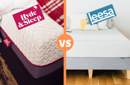 hyde and sleep vs leesa mattress review