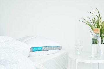 simba hybrid pillow