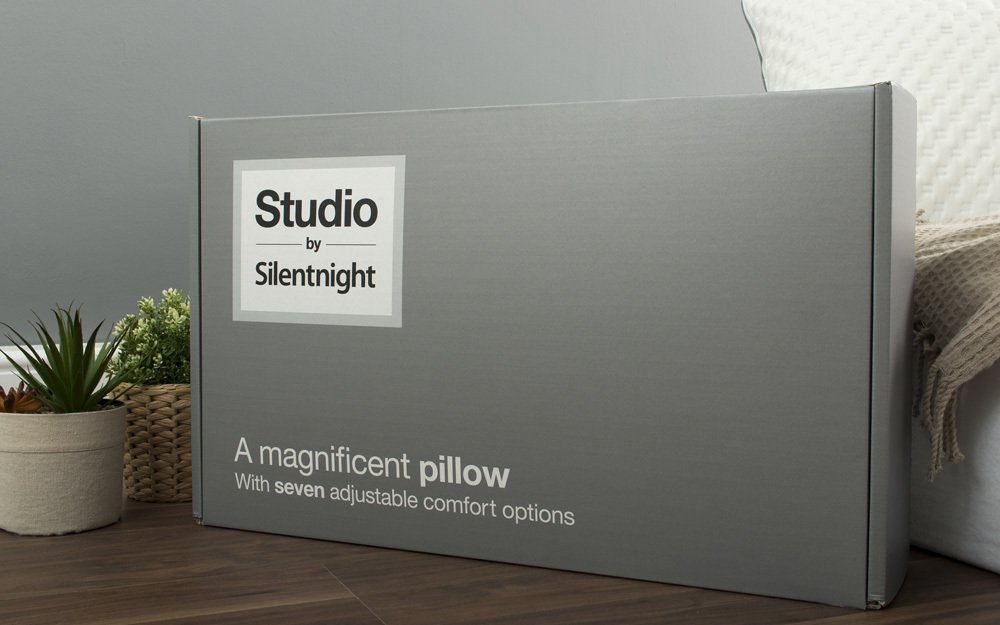 Studio Pillow packaging
