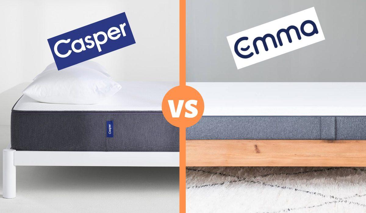 casper vs emma mattress review