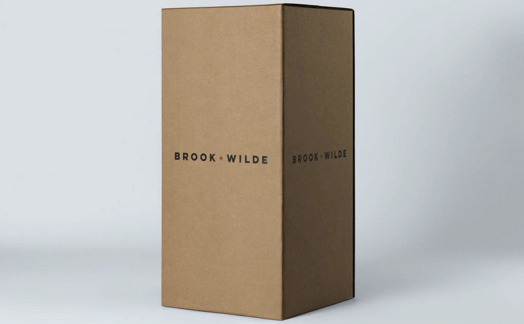 brook and wilde mattress box