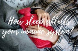 how sleep affects our immune system