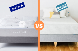 nectar vs leesa mattress review