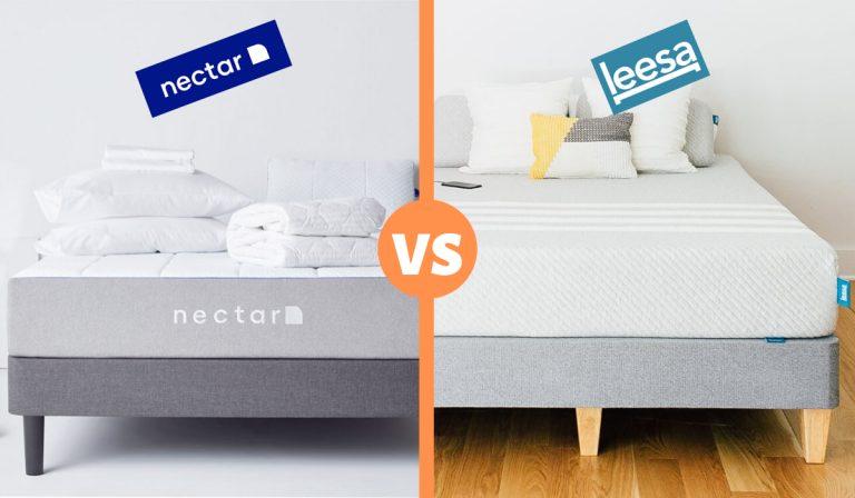 nectar vs leesa mattress review