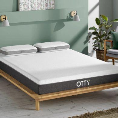 otty aura hybrid mattress review