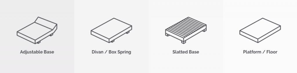 otty mattress base