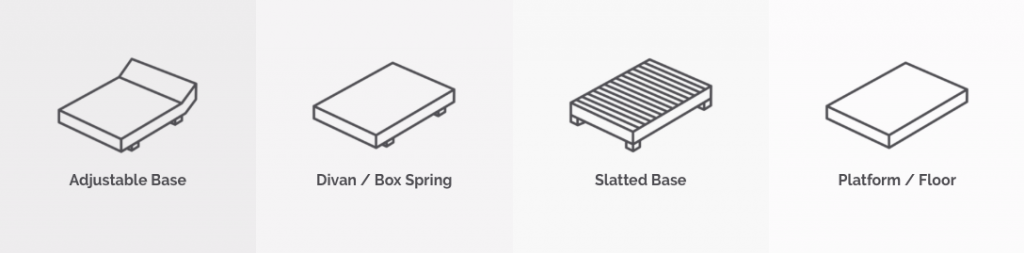 otty essential mattress base
