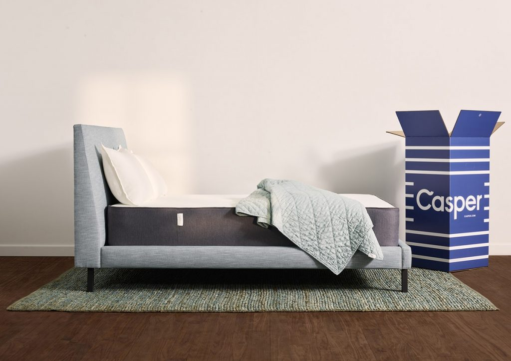 casper hybrid mattress box