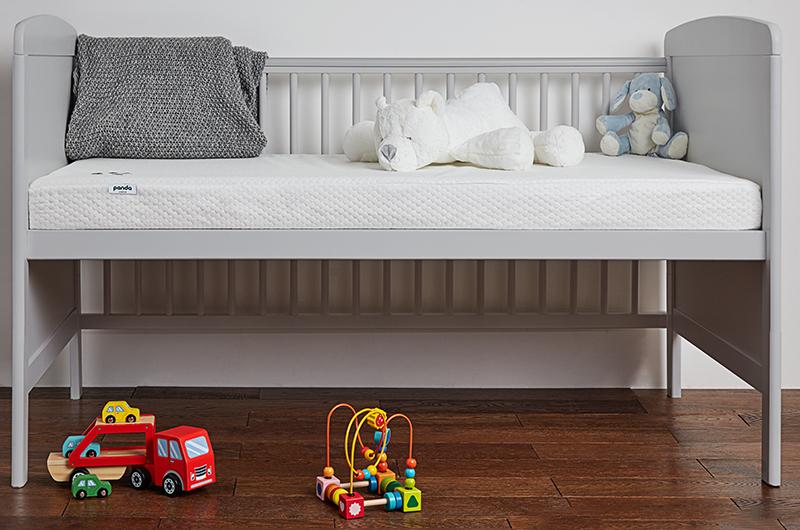 panda cot mattress