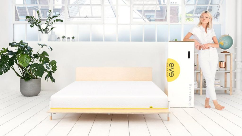 eve light mattress box