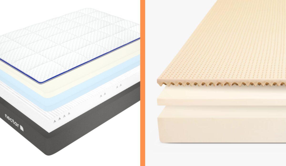 nectar vs leesa materials comparison