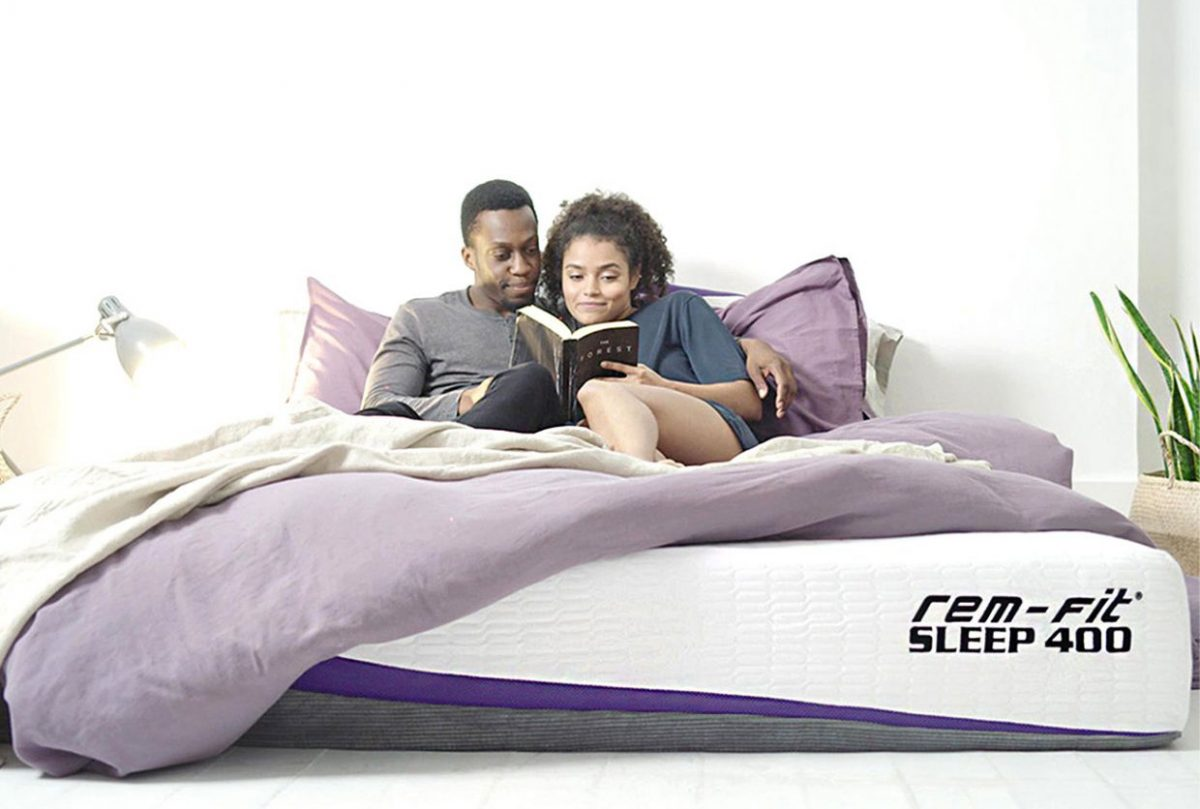 rem fit 400 hybrid zoned mattress review