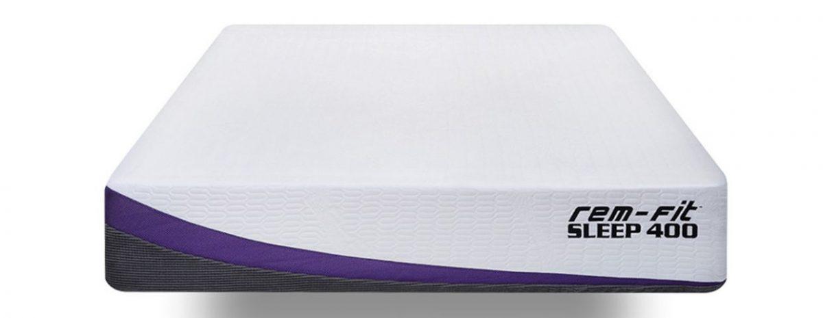 rem fit 400 zoned mattress