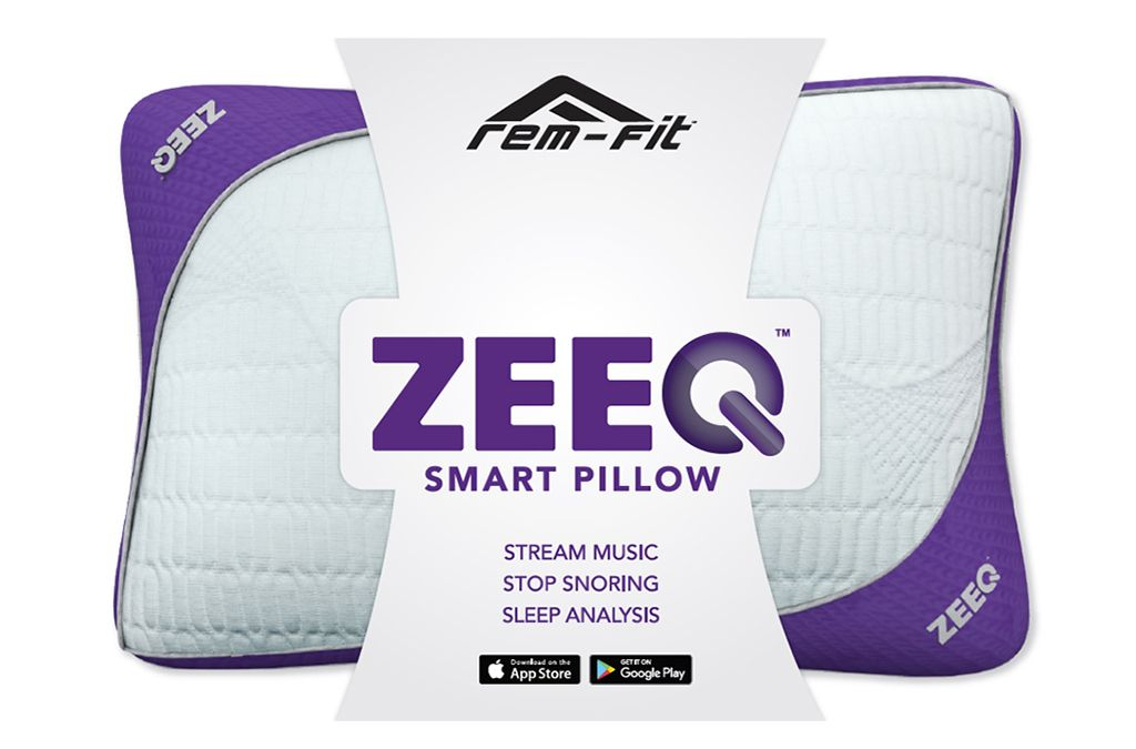 rem fit zeeq pillow packaging