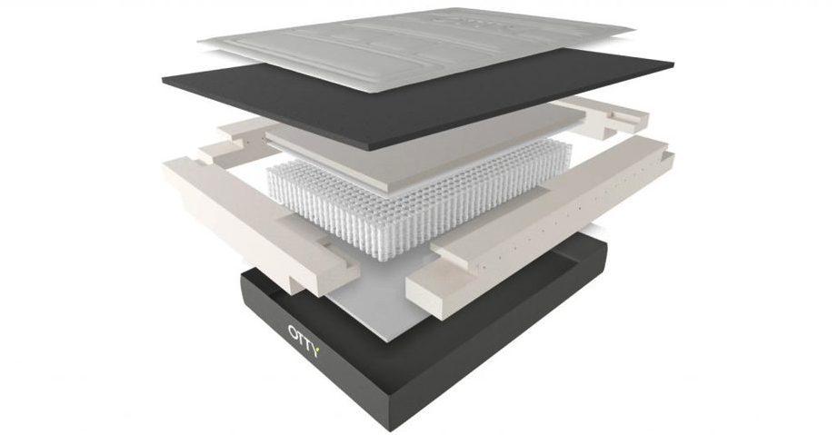 otty pure mattress materials