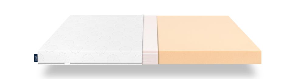 emma cot mattress layers