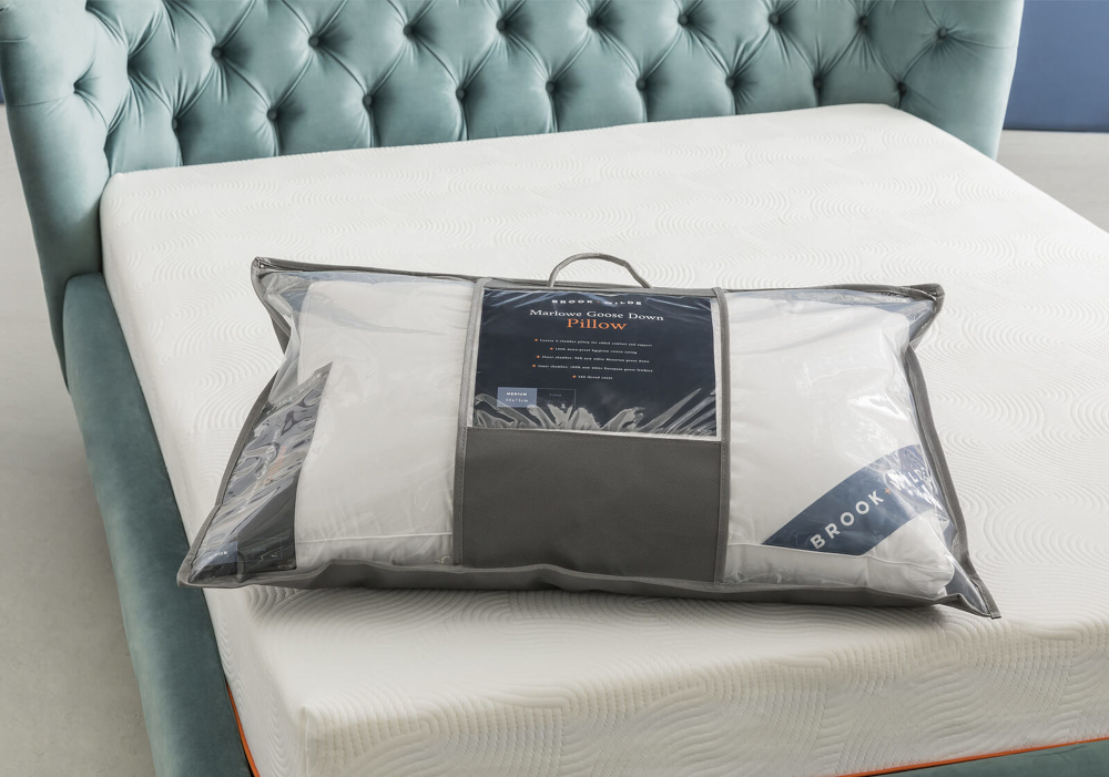brook and wilde pillow packaging