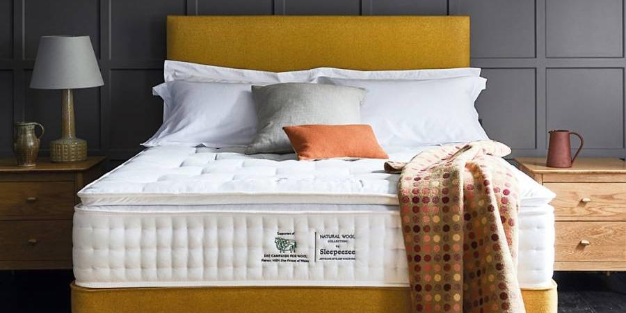 sleepeezee campaign for wool mattress