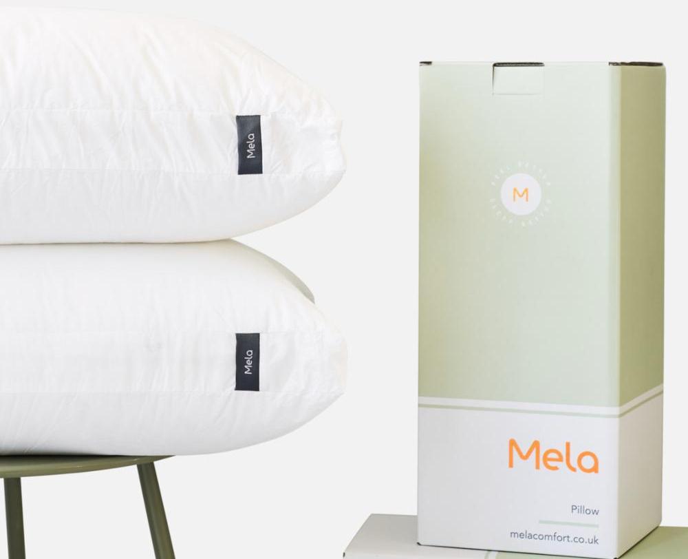 mela pillow box