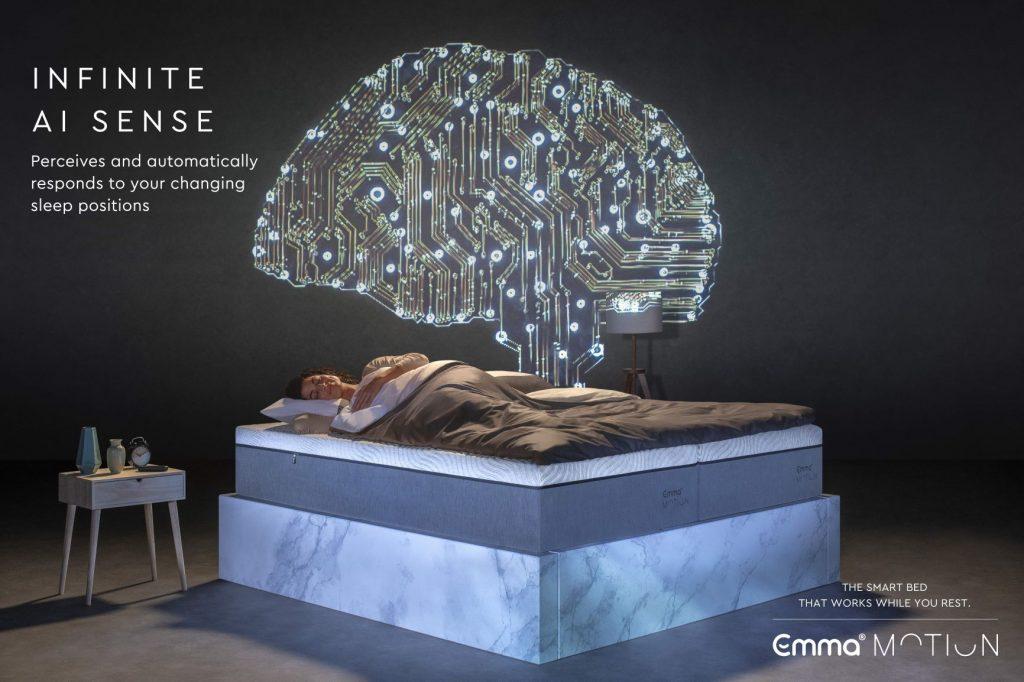 emma motion mattress AI