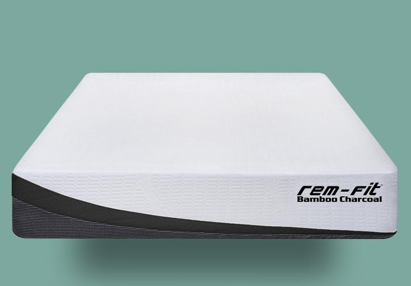 REM-Fit bamboo charcoal memory foam mattress review